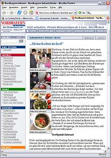 Kochen mit der Presse oder Info über Co-Cooking Bericht in den Medien von www.nordbayern.de bei Alleine Kochen ist doof - gemeinsam macht´s mehr Spaß!